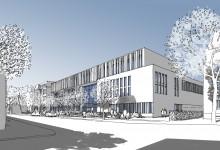 Zweiter Platz für DFZ-Architekten: Erweiterung der Goethe-Schule-Harburg