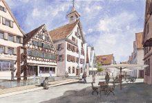 Silands in der engeren Wahl: Rathausplatz Giengen an der Brenz