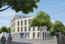 Nachtrag: Neubau Geschäftsstelle der GWG in Tübingen - 3. Preis für Braunger Wörtz Architekten